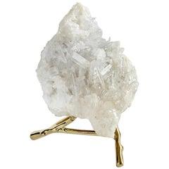 Natural Quartz Crystal Sculpture
