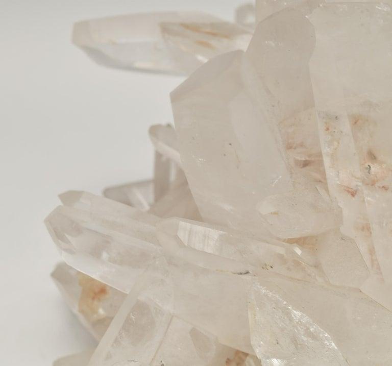 Natural Rock Crystal Quartz Cluster For Sale 1