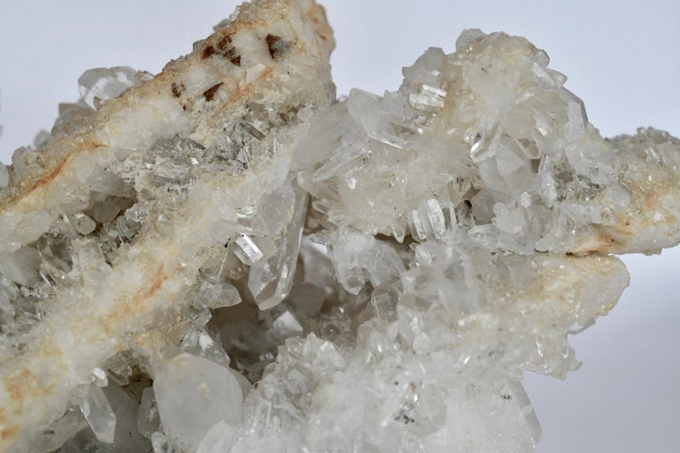 Natural Rock Crystal Quartz Cluster For Sale 2
