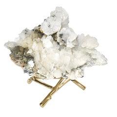 Natural Rock Crystal Quartz Sculpture