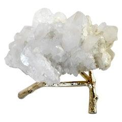 Natural Rock Crystal Sculpture