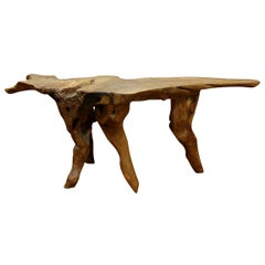Natural Sculptural Root Table