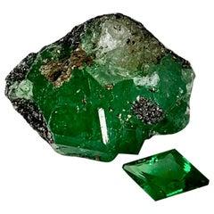 Natural Tanzanian Diamond shape 2.48 Carat Tsavorite Garnet