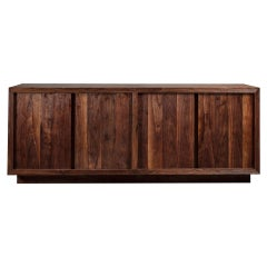 Natural Walnut / Oak Textured Sideboard