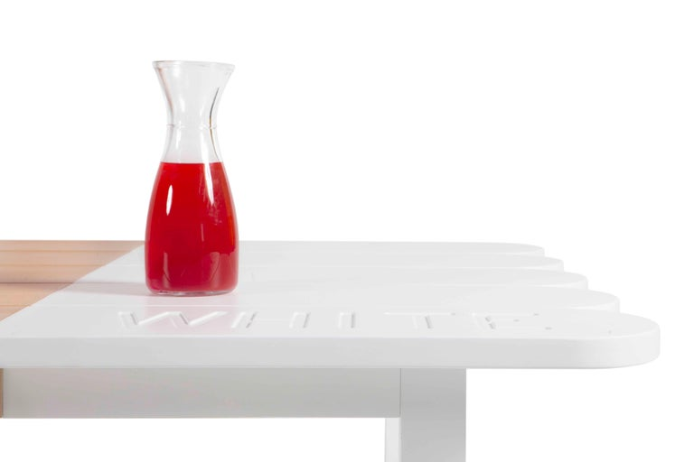 Other Natural Wood Dining Table by Tiago Curioni For Sale