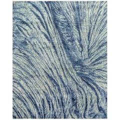 Natural World Hand Spun Wool Inspired Material Rug