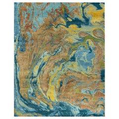 Natural World Lava Inspired Material Rug