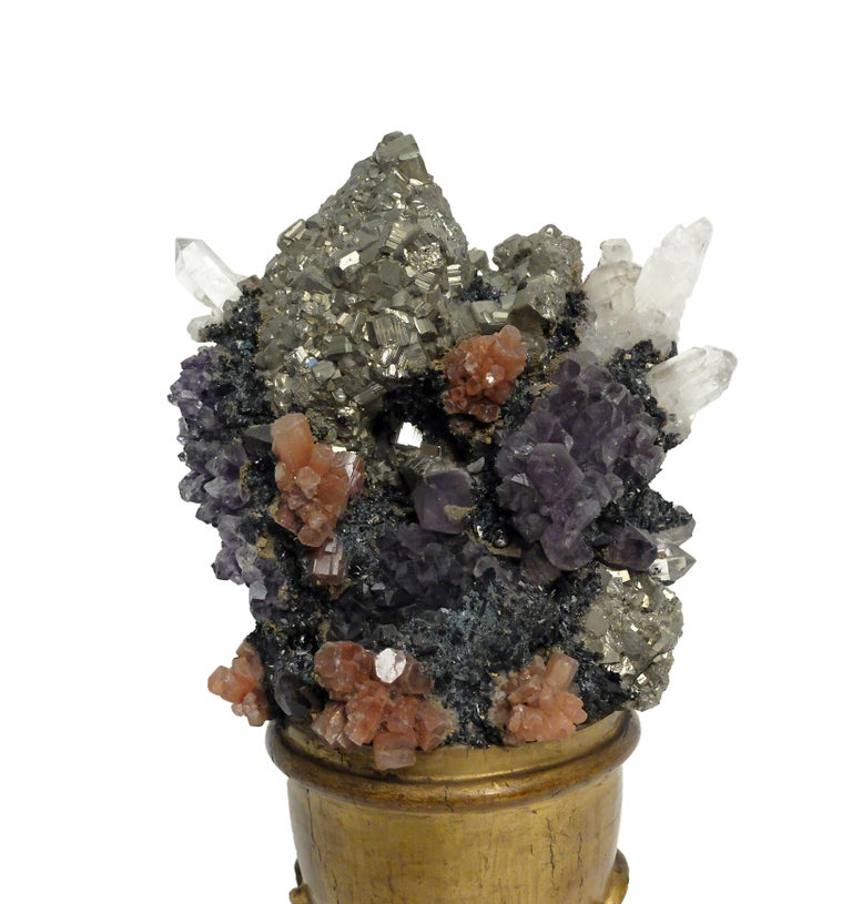 Naturalia Mineral Specimen, Italy, 1870 circa Splendid Wunderkammer Rarity In Excellent Condition For Sale In Milan, IT