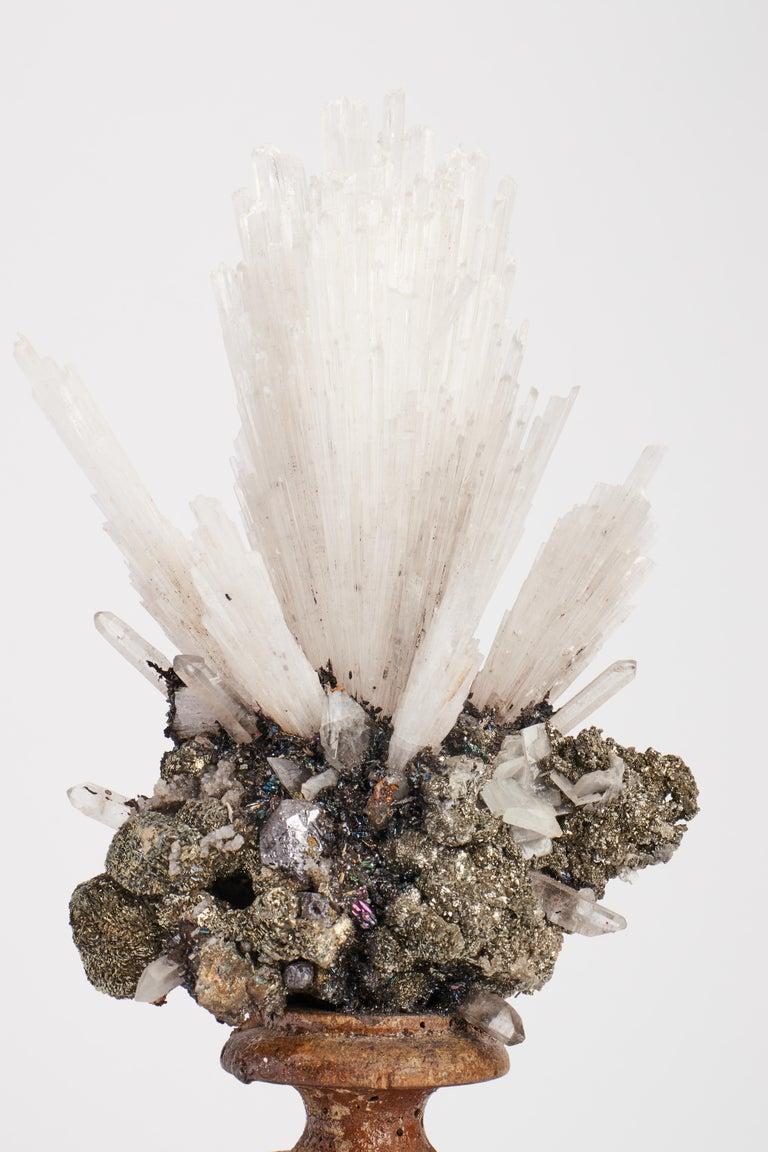 Italian Naturalia Mineral Specimen, Italy, circa 1870 Splendid Wunderkammer Rarity For Sale