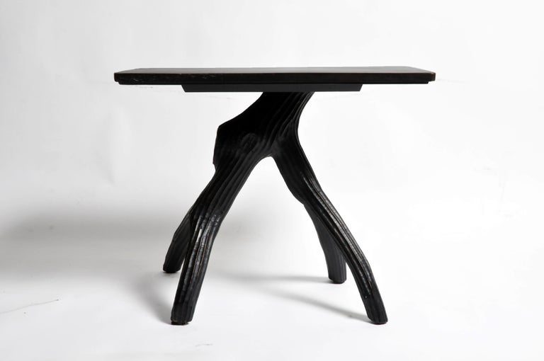 Naturalistic Game Table In Good Condition For Sale In Chicago, IL