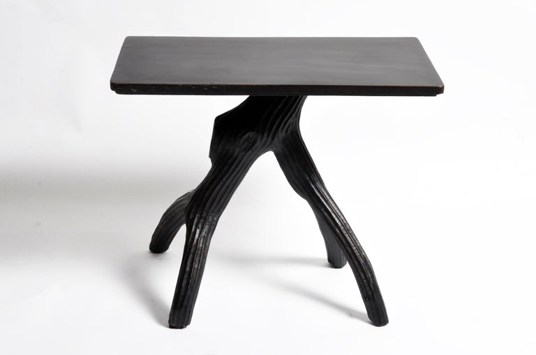 Late 20th Century Naturalistic Game Table For Sale