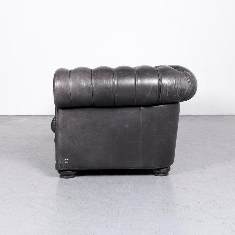 Natuzzi King Designer Leather Sofa