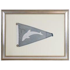 Nautical Burgee Flag of Dolphin