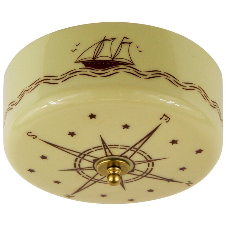 Nautical Comp Ceiling Light For