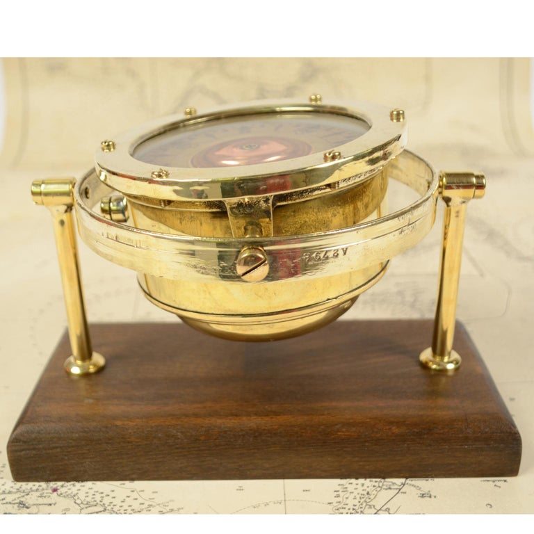 Late 19th Century Nautical Compass signed Sestrel, UK, 1876 For Sale