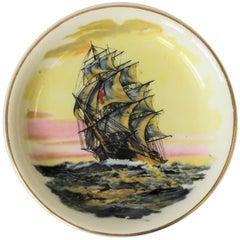 Nautical English Vanity Jewelry Dish