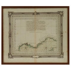 Nautical Map of the Mediterranean Sea from  Le petit Neptune françois, 1763