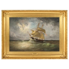 Nautical Painting by Paul Seignon