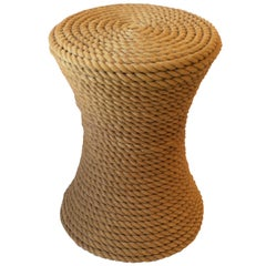 Nautical Rope Round Side or End Table