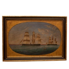 Nautical Ship Painting, circa 1890, England