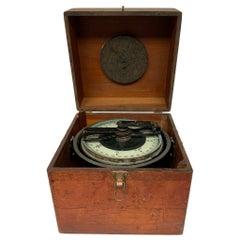 Nautical Ship Wooden Box Compass