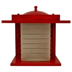 Red Japanese  Wall Lantern '2 Available'
