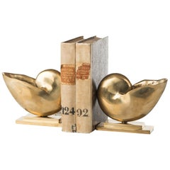 Nautilus Set of 2 Bookends