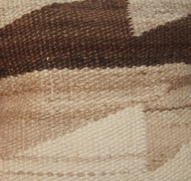 Adirondack Navaho Weaving Pillows, Pair For Sale