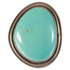 Navajo Cerrillos Turquoise Ring
