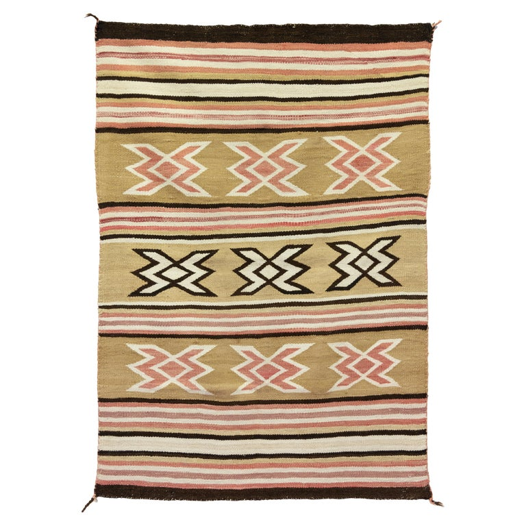 Navajo Crystal Area Weaving For Sale