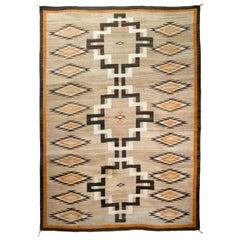 Navajo Crystal Weaving, circa 1910