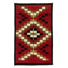 Navajo Crystal with Ganado Red Area Weaving