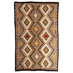 Navajo Eye Dazzler Textile, 1940s