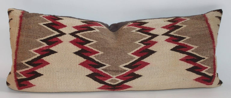Navajo Eye Dazzler Weaving Pillows / Collection of Three In Excellent Condition For Sale In Los Angeles, CA