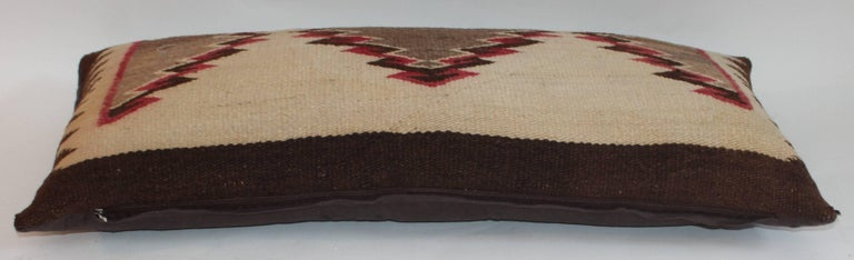 Navajo Eye Dazzler Weaving Pillows / Collection of Three For Sale 1