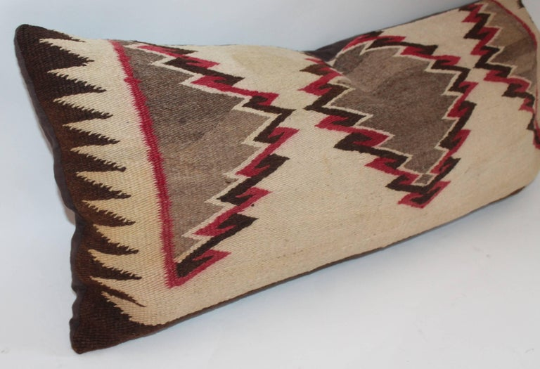Navajo Eye Dazzler Weaving Pillows / Collection of Three For Sale 2