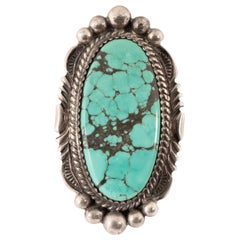 Navajo Fox MineTurquoise Ring