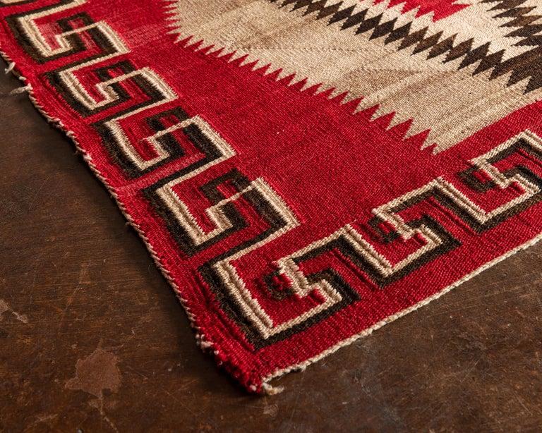 North American Navajo Ganado Textile, 1920s For Sale