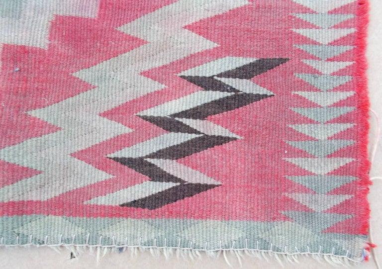 American Navajo Germantown Saddle Blanket For Sale
