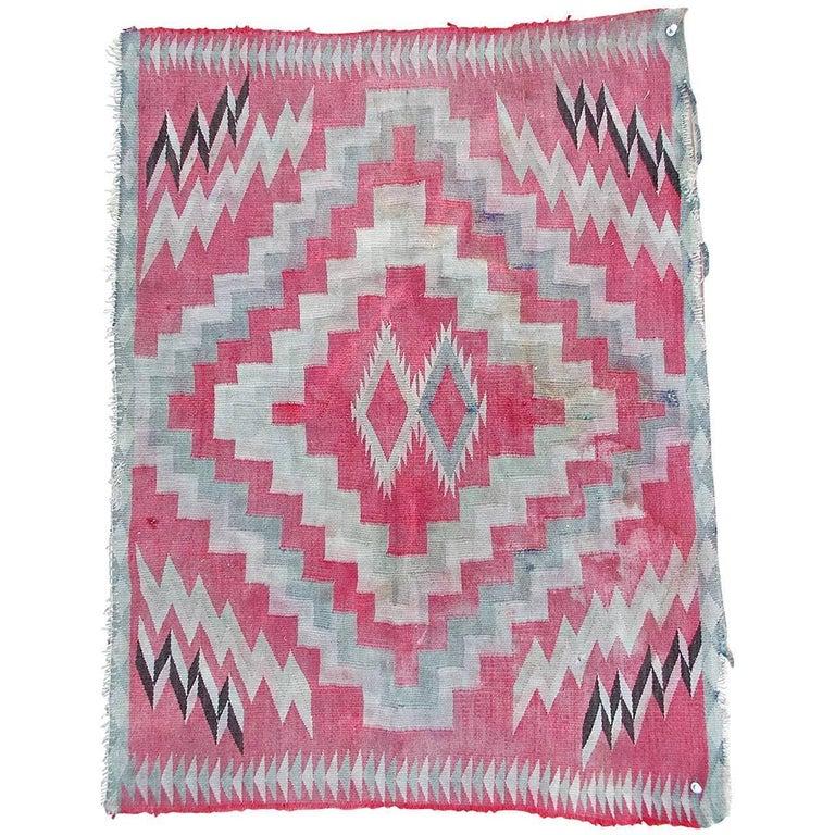 Navajo Germantown Saddle Blanket