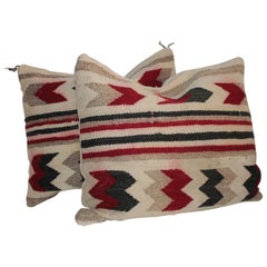 Navajo Indian Geometric Pair of Pillows