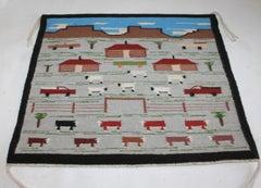 Navajo Indian Pictorial Weaving