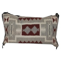 Navajo Indian Pillow, Two Grey Hills