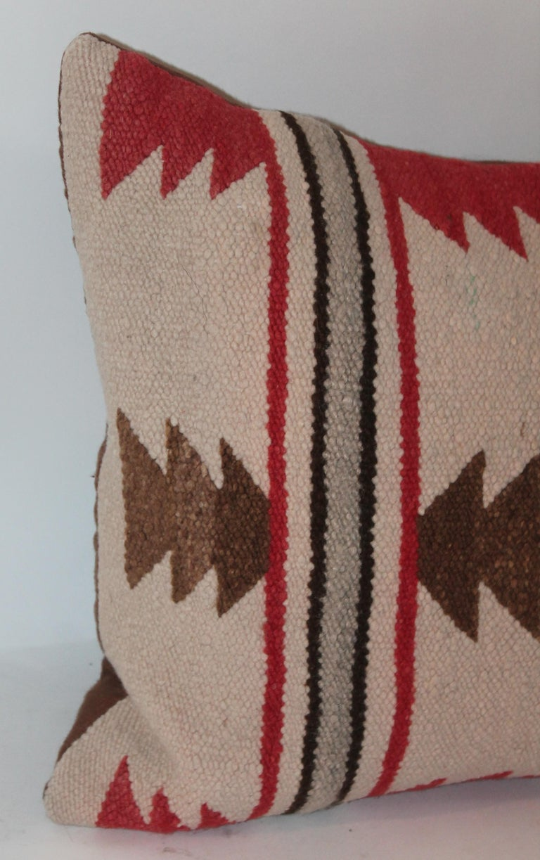 Navajo Indian Saddle Blanket Pillows For Sale 2