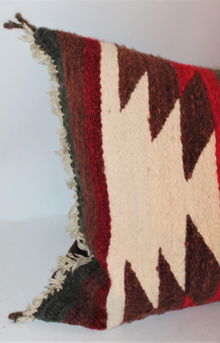 American Navajo Indian Saddle Blanket Pillows For Sale