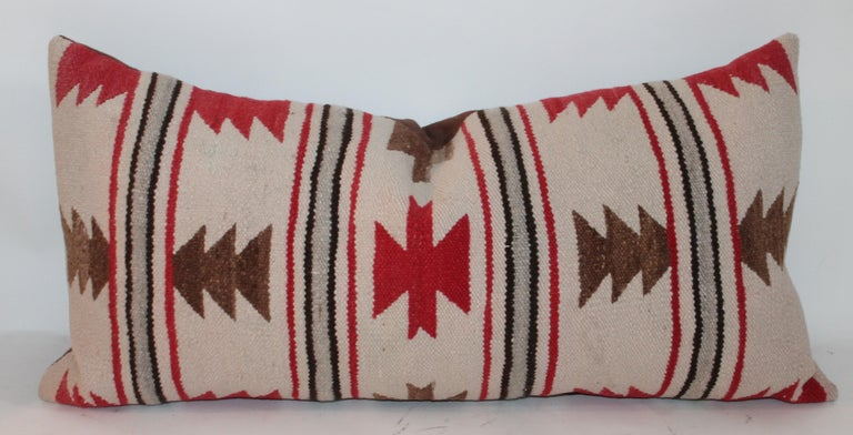 Navajo Indian Saddle Blanket Pillows For Sale 1