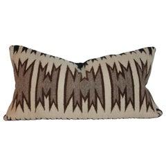 Navajo Indian Saddle Weaving Bolster Pillow
