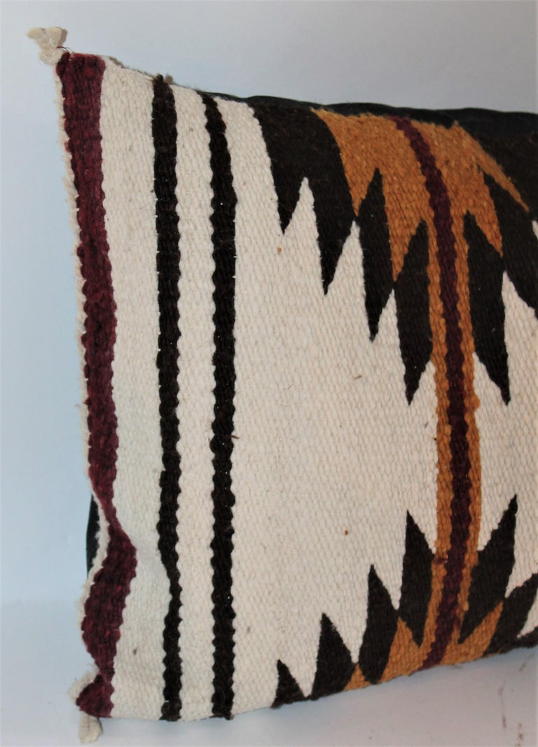 Navajo Indian Saddle Weaving Pillows, 2 For Sale 2