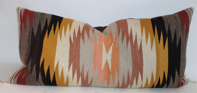 American Navajo Indian Saddle Weaving Pillows, 2 For Sale