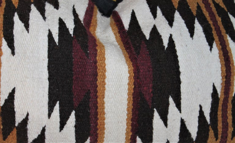 20th Century Navajo Indian Saddle Weaving Pillows, 2 For Sale
